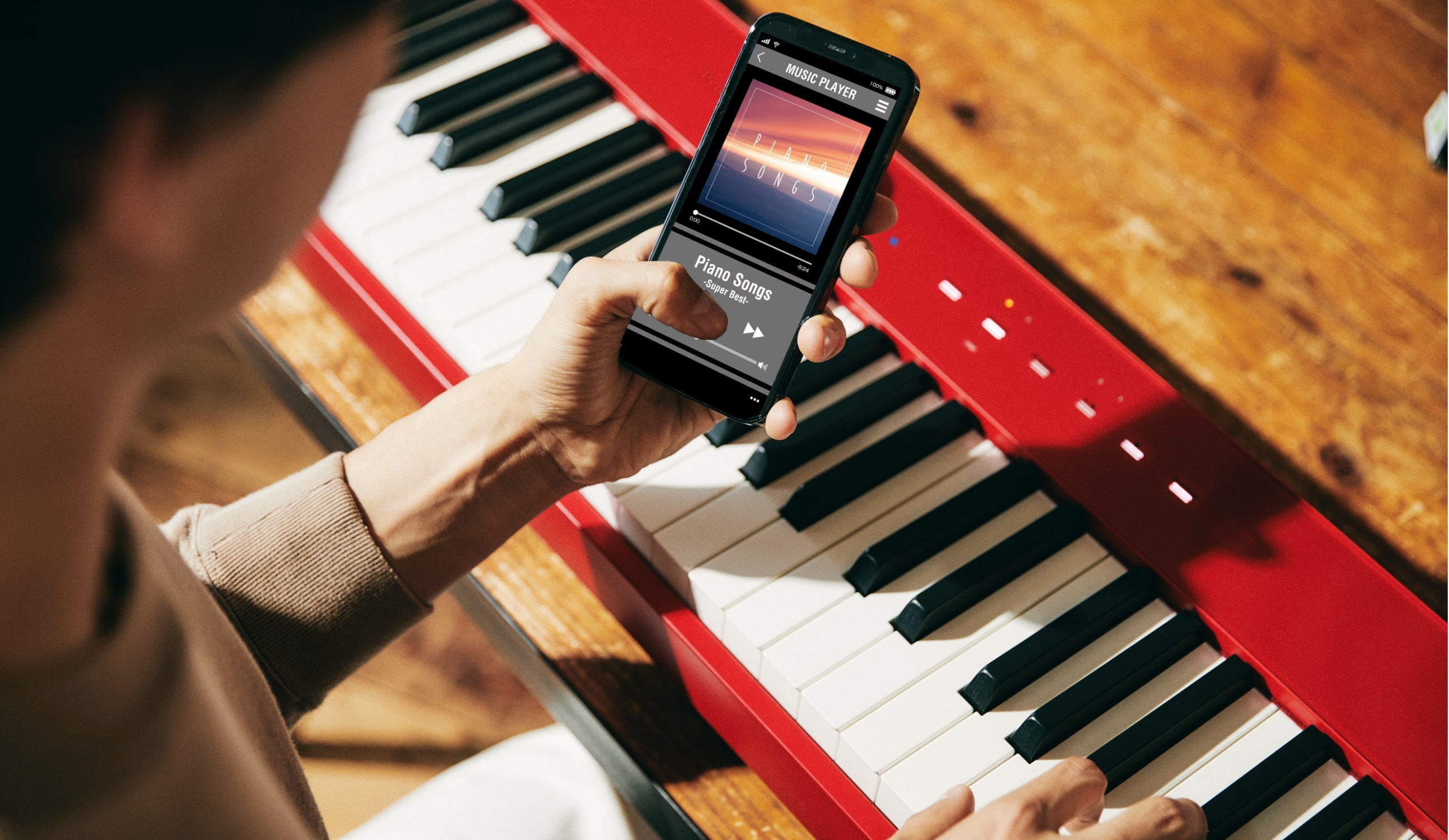 Music Play on with Bluetooth Audio
