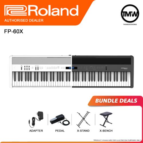 roland fp60x bundle deals