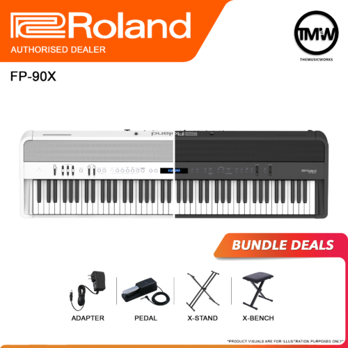 roland fp-90x bundle deals