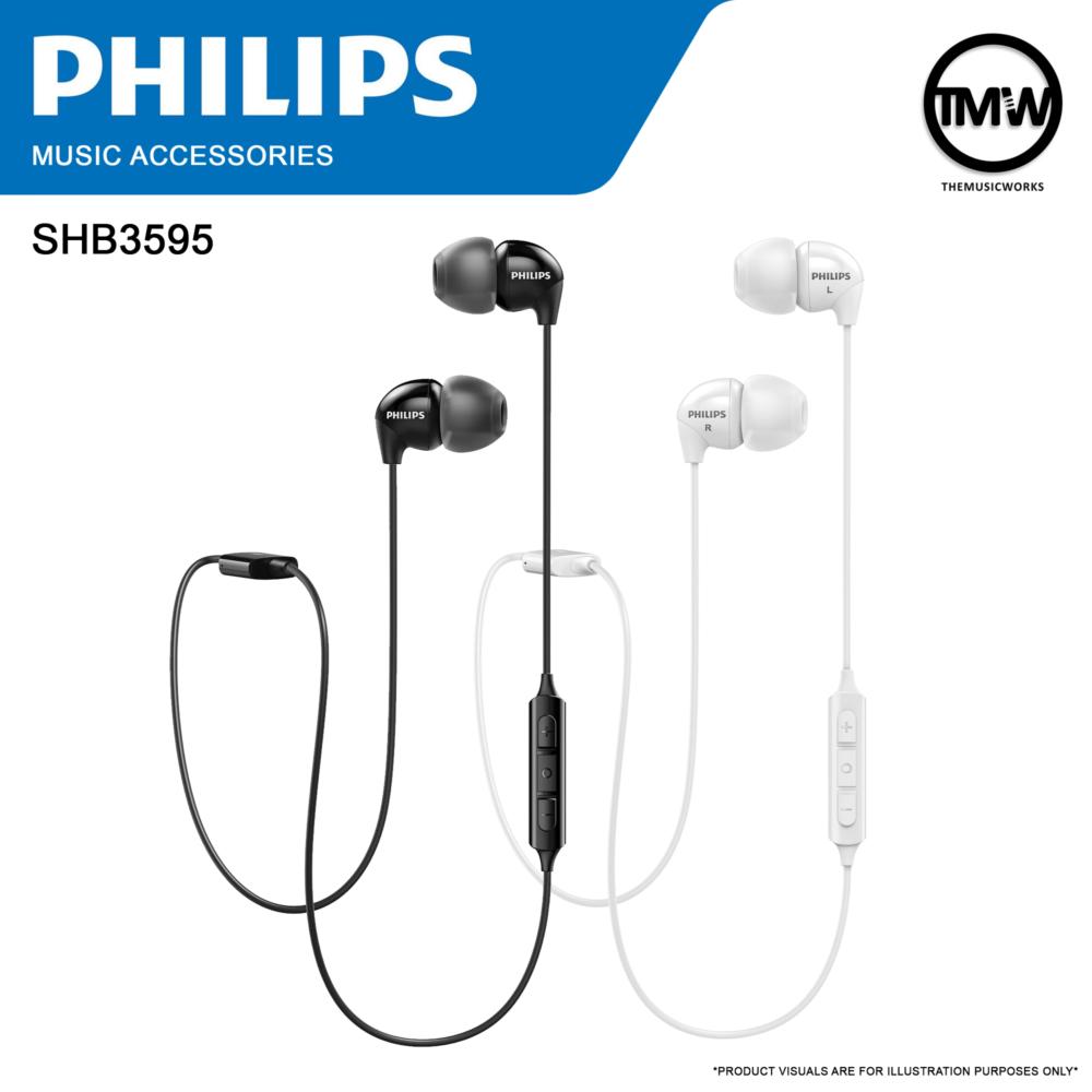 Philips SHB3595 Bluetooth Wireless Headphones