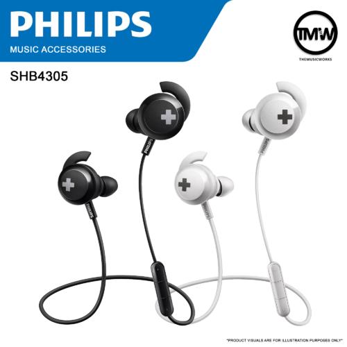 Philips SHB4305 Bass+ Bluetooth Wireless Headphones