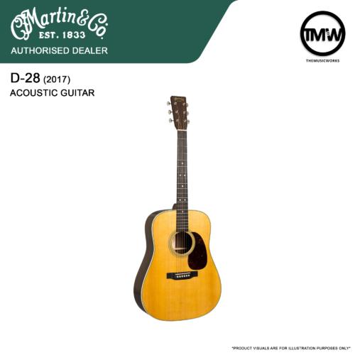 martin d-28 2017 acoustic guitar