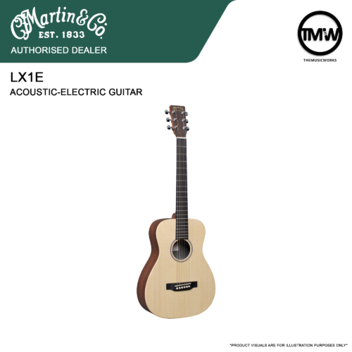 martin lx1e acoustic-electric guitar