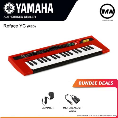 yamaha reface yc bundle deals