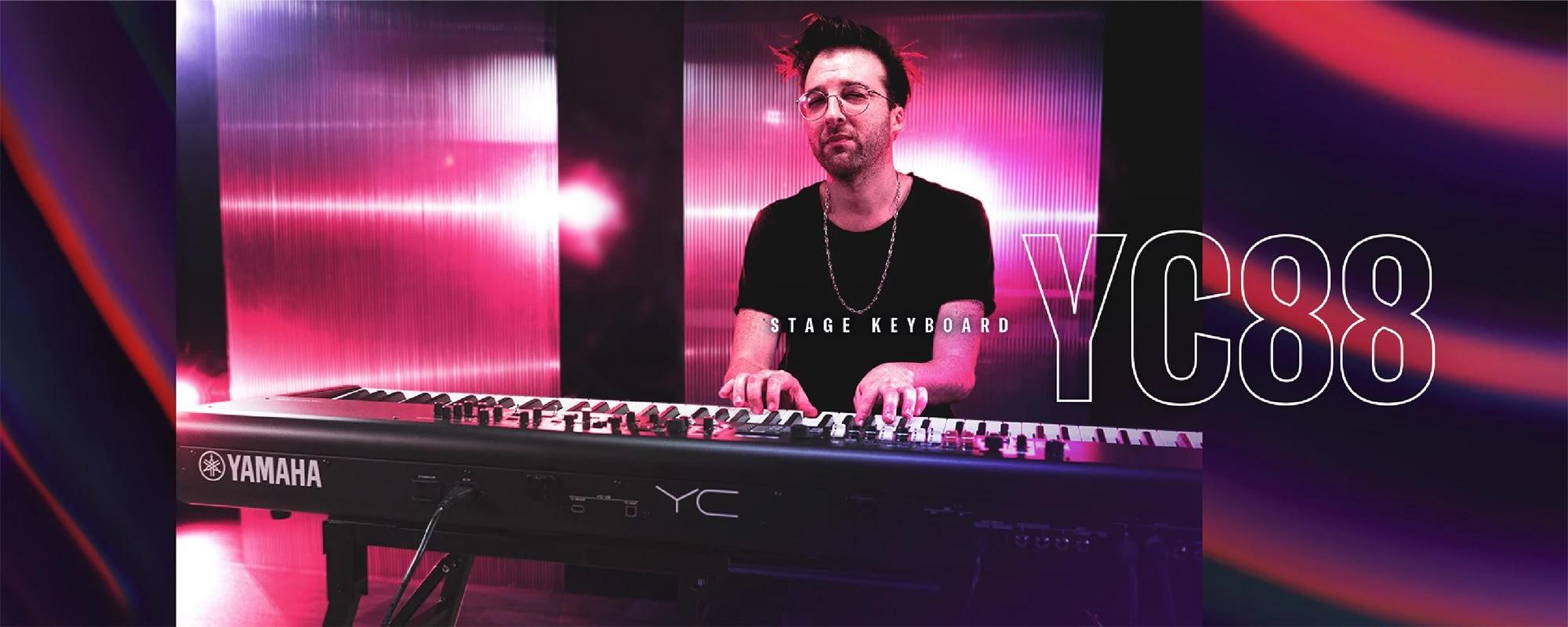 yamaha yc88 with Uri Gincel